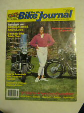 July 1990 The Old Bike Journal Magazine - Spotlight On German Bikes (BD-33)