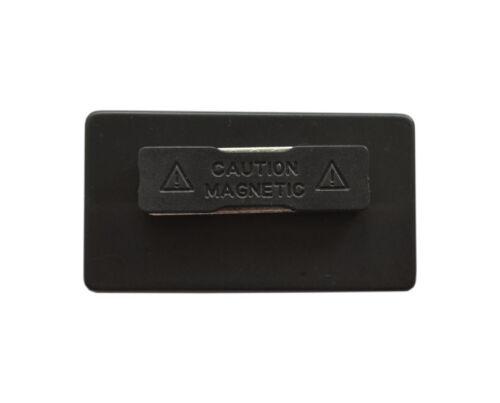 5 x Kunststoff Namensschild Namensschilder Magnet  weiss silber oder goldfarbig