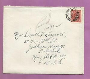 Canada-Crossfield-Alberta-to-NY-1948-cover-Ottawa-deadletter-cancel-m12