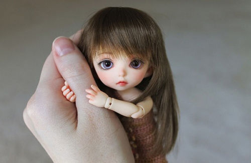 2019 New 1/8 Bjd SD Little Luna Girl Doll With Face Make Up+ Free Eyes Xmas Gift