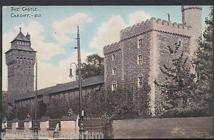 Wales-Postcard-The-Castle-Cardiff-RT708