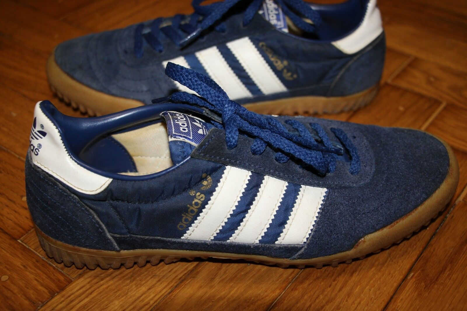 VINTAGE ADIDAS SUPER INDOOR MADE IN TAIWAN RARE 70S 80S
