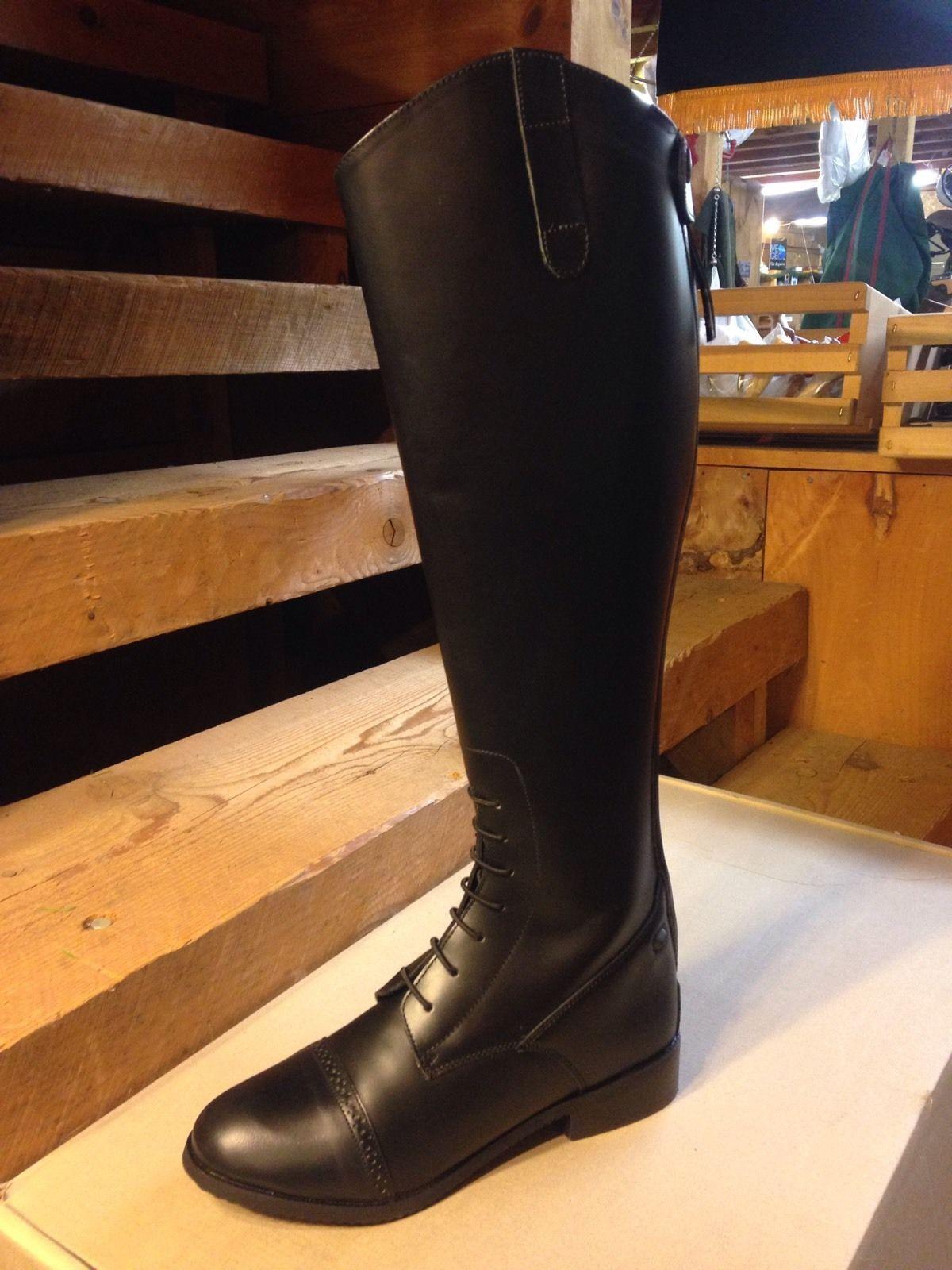 Finallist för - plus damer i publiken Tall Field Boot Storlek 8.5 Bröd