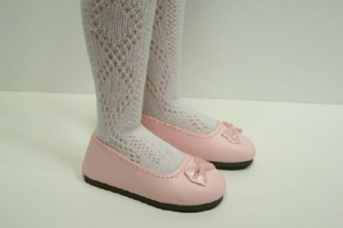 "Debs LT PINK Flats Doll Shoes For 14/"" Kish Lark Wren Song Raven"