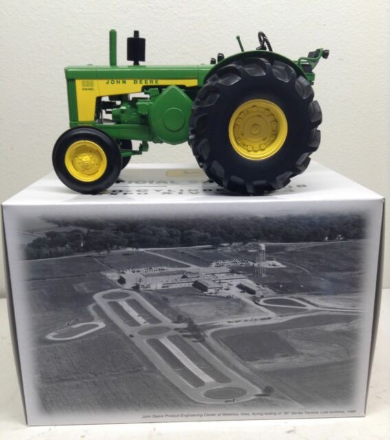 1/16 John Deere 830 Rice Special Tractor 2004 Two-Cylinder Club Show ERTL Nice!