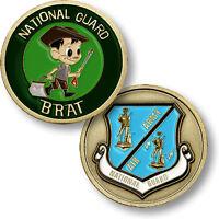 U.s. National Guard / National Guard Brat Usng Challenge Coin