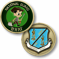U.s. National Guard / National Guard Brat Usng Challenge Coin