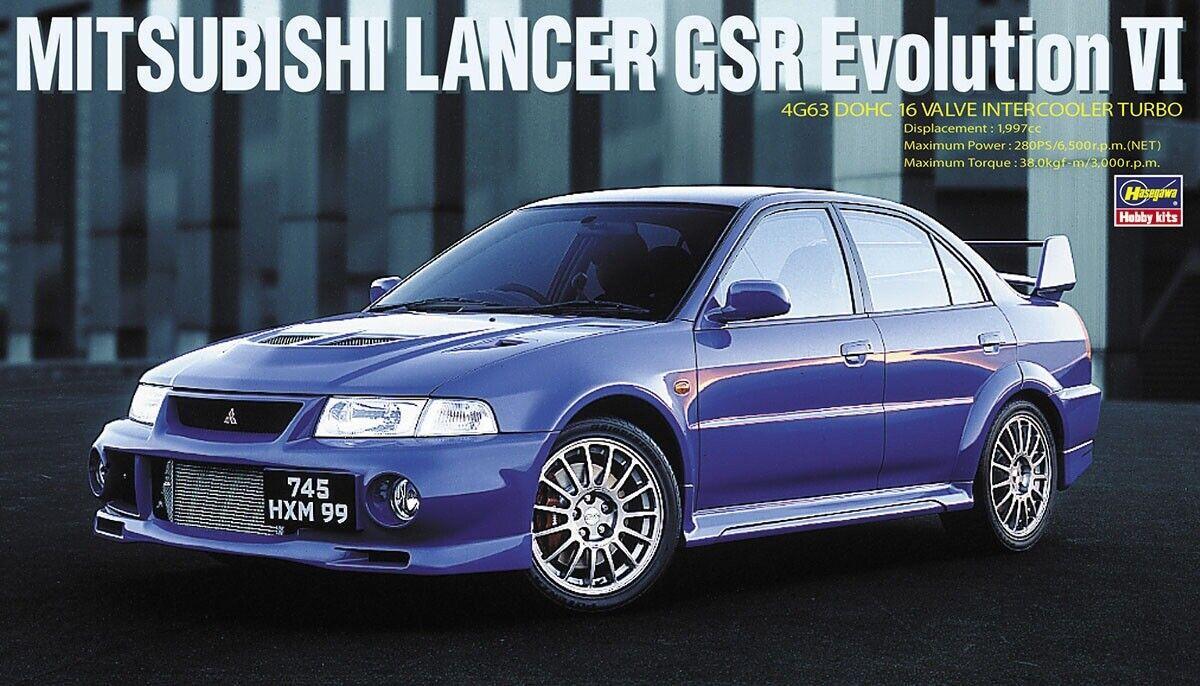 Hasegawa 1 24 Mitsubishi Lancer GSR Evolution VI