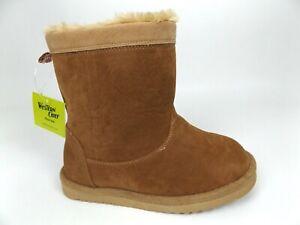 Western Chief Girls Fashion Boot, Makena Peanut, SZ 12.0 M US Toddler. NEW! 1541