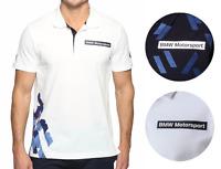 Puma Bmw Motorsport Men's Premium Cotton Graphic Polo Shirt T-shirt 572833
