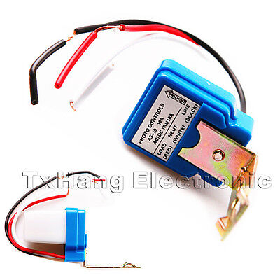 Automatic Auto On Off Street Light Switch Photo Control Sensor for AC 220V