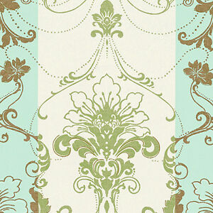 Cotton-Satin-Fabric-Bedding-Antique-Dandy-Damask-Mint