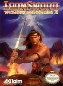 Iron-Sword-Wizards-amp-Warriors-II-NES-Game-Used