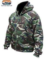 Kombat UK Adult Hoodie DPM Hoody New Small Full Zip Fleece Lining Men Women (S)