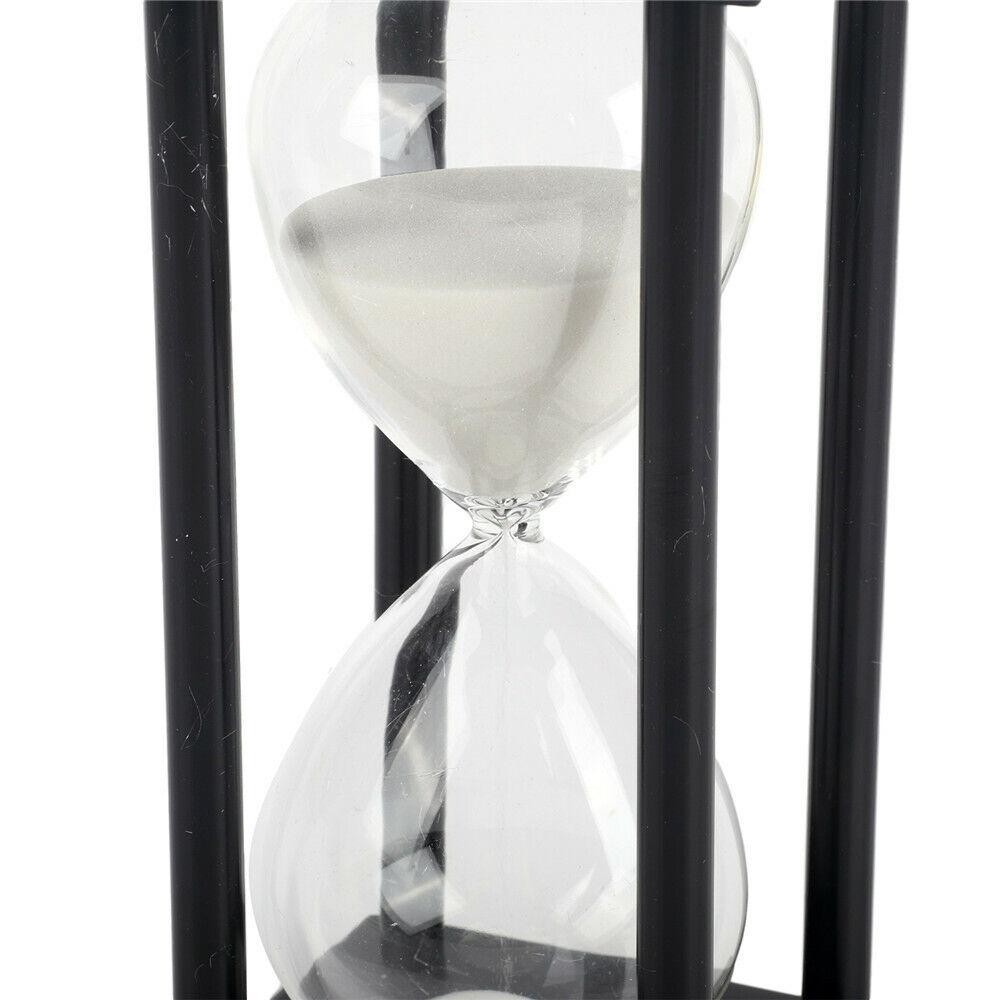 60Mins Hourglass Modern Wooden Hour Sandglass Home Decor Gift