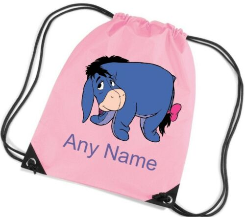 Personalised Eeyore Style PE//School//Swimming//Bag by Mayzie Designs®