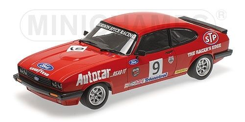Ford Capri 3.0 Gordon Spice Winner Brands Hatch Race Bscc 1978 1 18 Model
