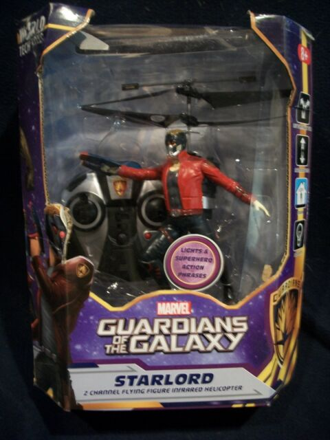 MARVEL GUARDIANS OF THE GALAXY STARLORD 2CH IR RC HELICOPTER World Tech Toys