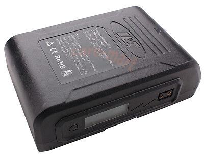LanParte DSLR Camera Sony V-mount V Lock Li-ion Battery 150Wh Power LCD Display