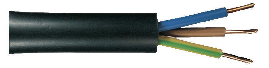 50m Kabel, NYY-J 5x2,5mm², 181172, hohe Qualität, inkl. Cu, 50m-Bund, VDE 0276