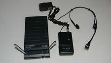 Audio Technica UHF Wireless Headset Microphone System W/ Receiver ATM-75 ATW-R03