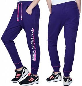 Détails sur Adidas Originals Trefoil Baggy Terry Femme Pantalon Pantalon De Gym Danse Pantalon De Survêtement S afficher le titre d'origine