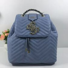67a8faf6d62c Womens Violet Quilted Backpack One Size Handbag 5 Colors Drawstring Flap  Bags