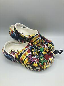 Crocs-Chinatown-Market-Grateful-Dead-Classic-Clog-Size-W6-M4