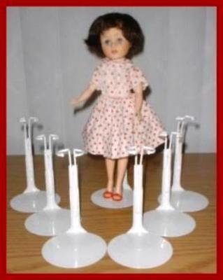 6 Kaiser Doll Stands for JILL Little Miss Revlon TINY KITTY Coquette Cissy