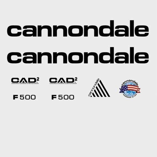 Transfers n.965 Stickers Cannondale F500 CAAD2 Bicycle Decals