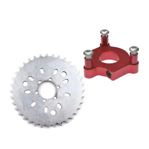 """32 to 44 Tooth Sprocket CNC Adapter 415 Chain 1.5/"""" For 60cc 80cc Motorized Bike"""