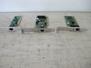 Ethernet-10-100-LAN-Network-PCI-Cards-Lot-of-3-D-Link-Linksys-new-amp-used