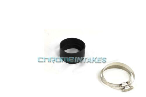 "BLACK 3.5/""-3.5/"" AIR INTAKE//PIPING RUBBER COUPLER FOR DODGE"