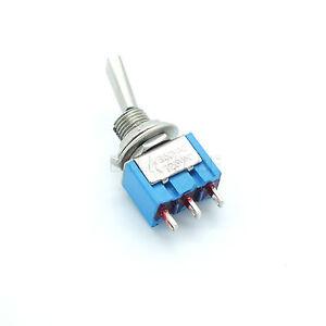 Miniatur-Kipptaster-250V-3A-3-polig-gefedert-2-Stellungen-EIN-EIN-Taster