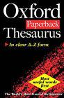 Oxford Paperback Thesaurus by Betty Kirkpatrick (Paperback, 2000)