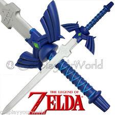 Deluxe Legend Zelda Online Hard Foam Master Sword Link Hylian Costume Cosplay