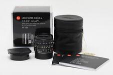 Brand New Leica Super-Elmar-M 21mm f/3.4 ASPH Black #11145