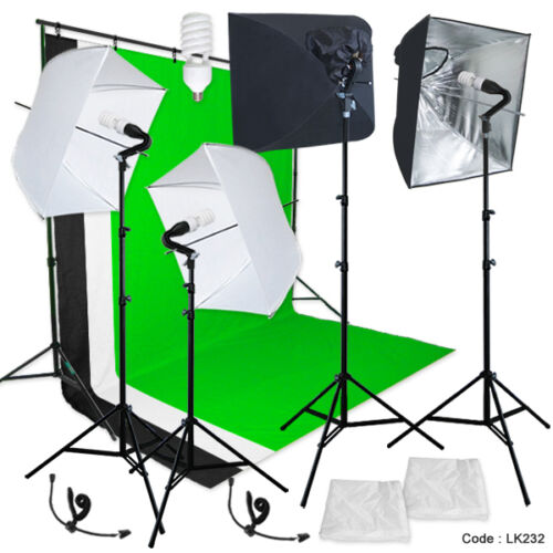 Optex Photo Studio Lighting Kit Review: Linco Studio Lighting Light Video Photo Softbox