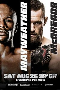 Floyd-Mayweather-vs-Conor-McGregor-POSTER-61x91cm-NEW-boxing-champion