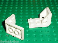 LEGO White Bracket 4598 / Set 6893 6972 6885 6971 6750 6983 6820 6990 6849 ...