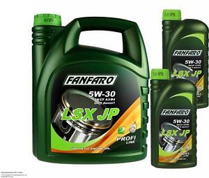 6 Litre originalfanfaro LSX JP 5W-30 API SN/CF Engine Oil Engine Oil Oil