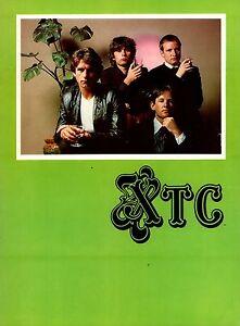 XTC-1980-BLACK-SEA-TOUR-CONCERT-PROGRAM-BOOK-BOOKLET-NEAR-MINT-2-MINT