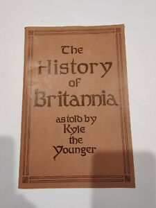 The History of Britannia storybook for Ultima IV: Quest of the Avatar 1985