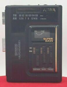 walkman cassette player- AIWA HS-G370 stereo radio cassette recorder