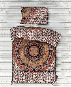 elefanten mandala bettbezug hippie indischen einzigen bettw sche baumwolle boho ebay. Black Bedroom Furniture Sets. Home Design Ideas