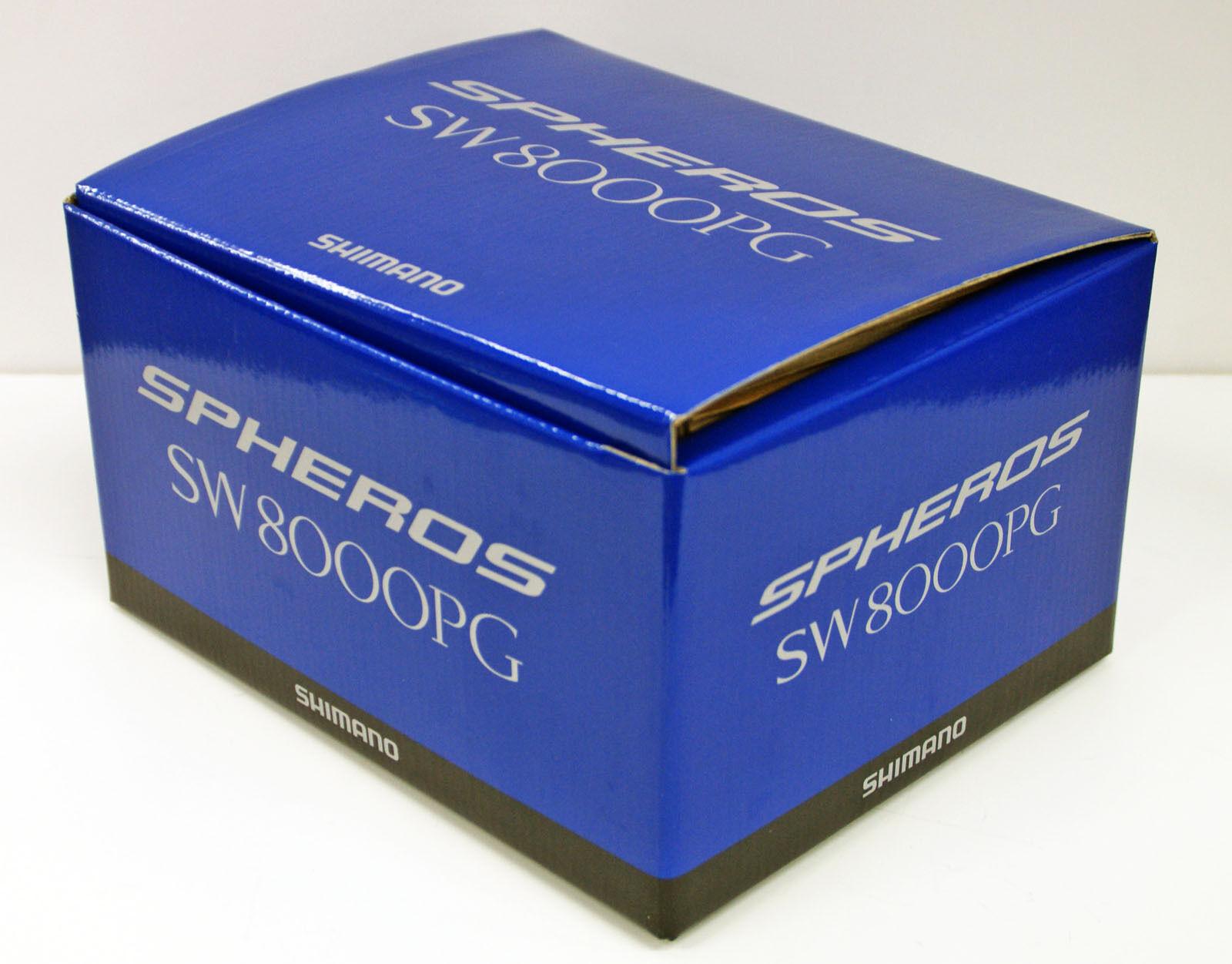 Shimano 14 Spheros SW 8000PG Saltwater Spinning Spinning Saltwater Reel 4969363032799 fa1c0d