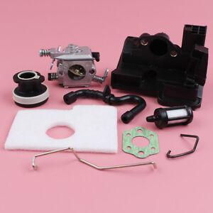 Carburetor For Stihl MS180 MS170 018 017 w Intake Manifold Air Filter Repair Kit