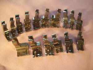 INDUSTRIAL-SEWING-MACHINE-16-METAL-COMPENSATING-FOOT-SET