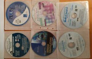LOT-of-11-NURSING-PRENTICE-HALL-TABER-039-S-amp-MORE-CD-ROM-STUDY-STUDENT-RESOURCE