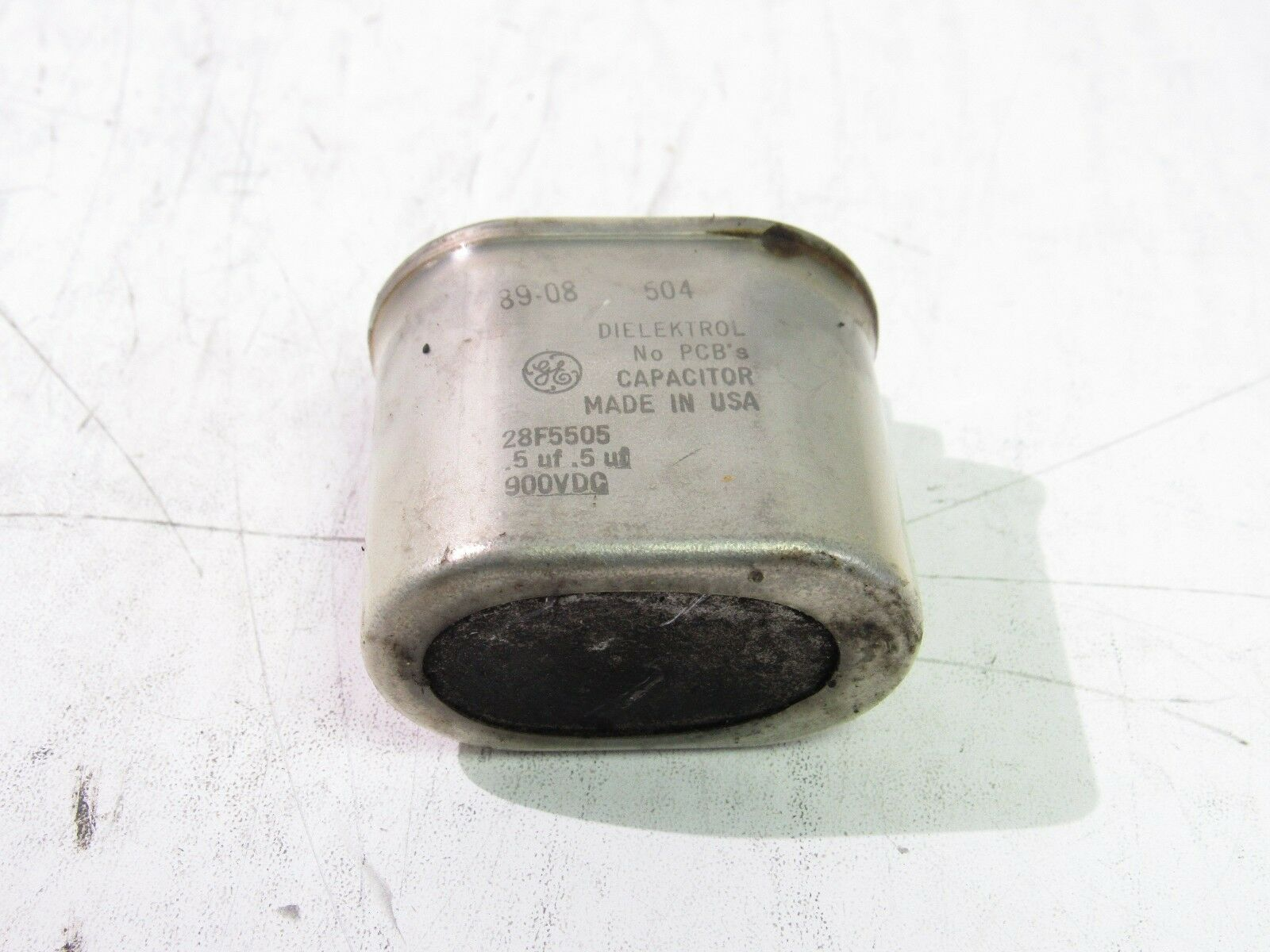 General Electric A28F5600S Capacitor 0.05uF 2000VDC FNIP